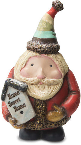 Home Sweet Home Santa with Birdhouse Figurine by Roly Poly Christmas - Beloved Gift Shop