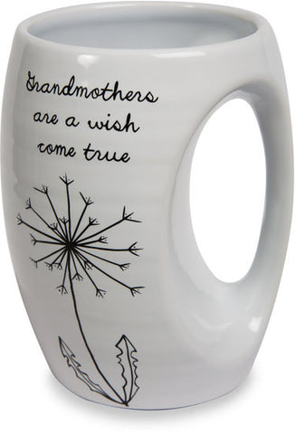 Grandmothers are a wish come true Coffee & Tea Mug by Dandelion Wishes - Beloved Gift Shop