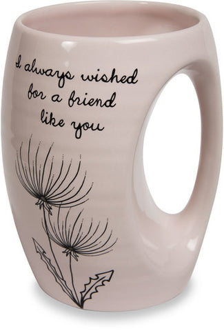 I always wished for a friend like you Coffee & Tea Mug by Dandelion Wishes - Beloved Gift Shop