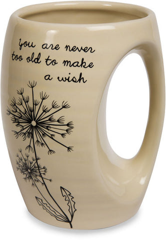 You are never too old to make a wish Coffee & Tea Mug by Dandelion Wishes - Beloved Gift Shop