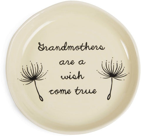 Grandmothers are a wish come true Keepsake Dish by Dandelion Wishes - Beloved Gift Shop