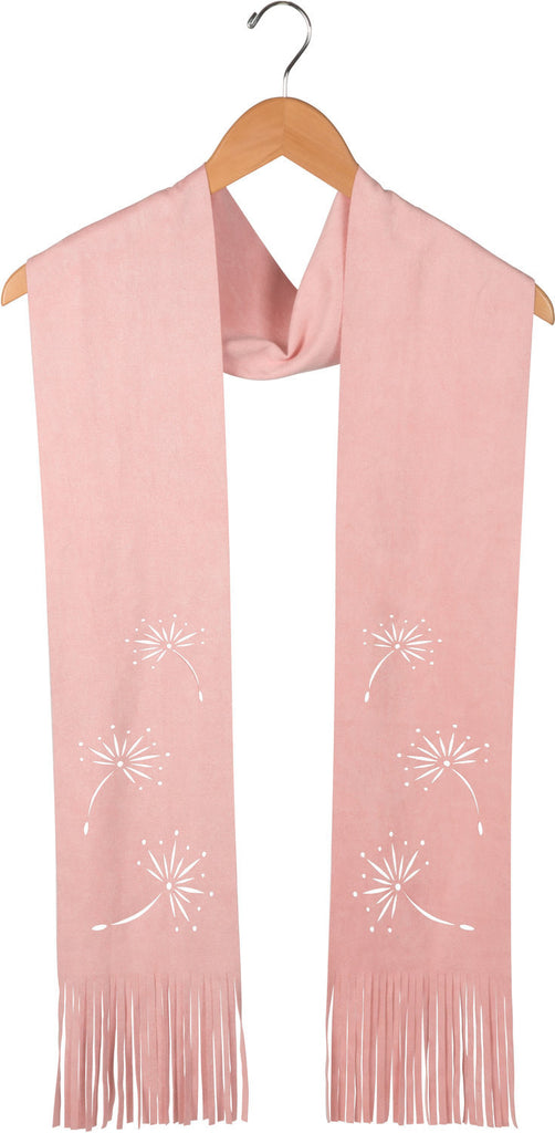 Pale Pink Micro Suede Scarf Suede Scarf - Beloved Gift Shop