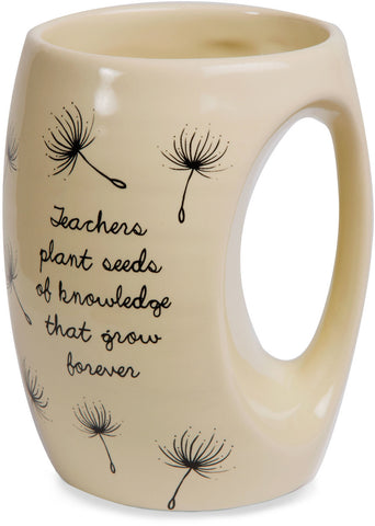 Teachers plant seeds of knowledge that grow forever Coffee Mug Mug - Beloved Gift Shop