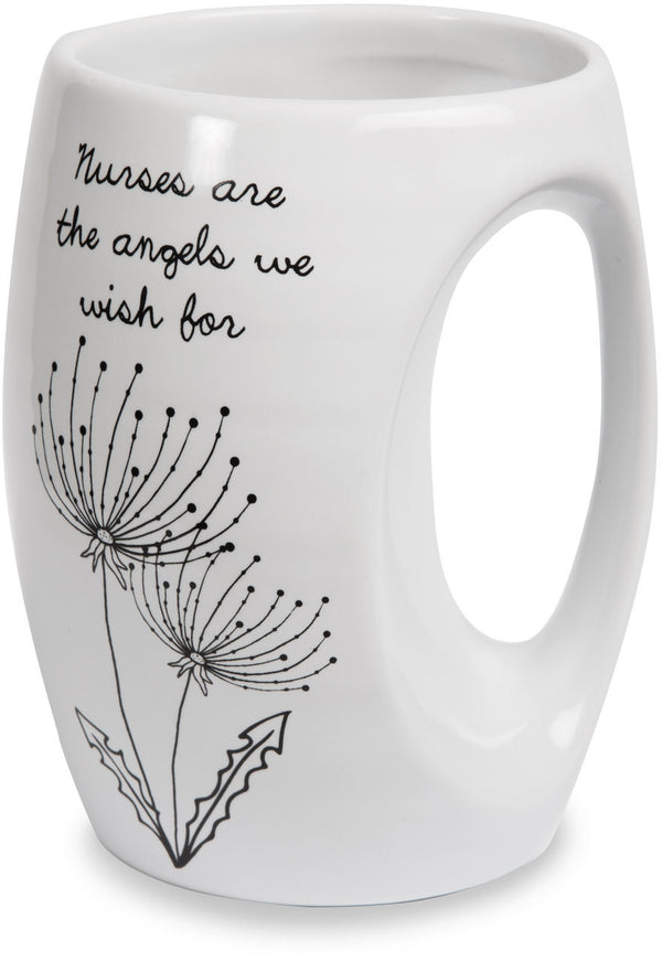Nurses are the angels we wish for Coffee Tea Beverage Mug Mug - Beloved Gift Shop
