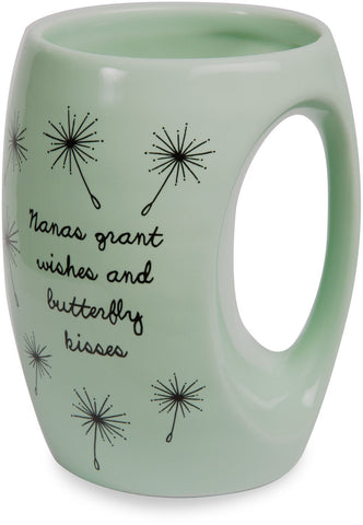 Nanas grant wishes and butterfly kisses Coffee Mug Mug - Beloved Gift Shop