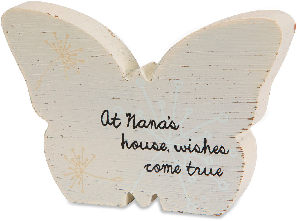 At Nana's house wishes come true Plaque by Dandelion Wishes - Beloved Gift Shop
