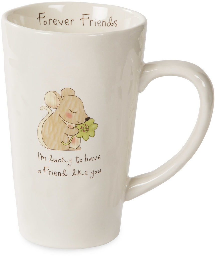 I'm lucky to have a friend like you Mug by Heavenly Woods - Beloved Gift Shop