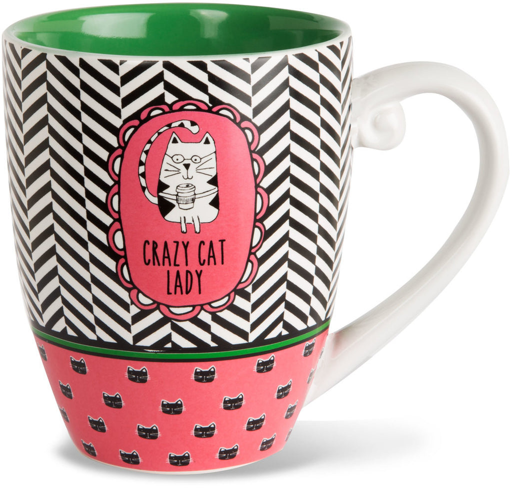 Crazy cat lady - Coffee & Tea Mug by It's Cats and Dogs - Beloved Gift Shop