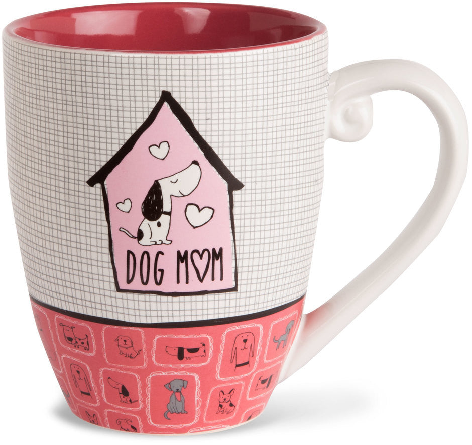 Dog mom - Coffee & Tea Mug by It's Cats and Dogs - Beloved Gift Shop