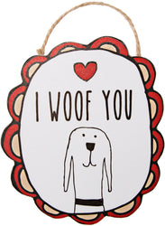 I Woof You Ornament with Magnet Ornament