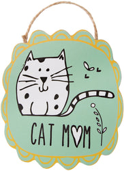 Cat Mom Ornament with Magnet Ornament