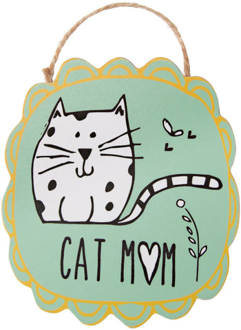 Cat Mom Ornament with Magnet Christmas Tree Ornament by It's Cats and Dogs - Beloved Gift Shop