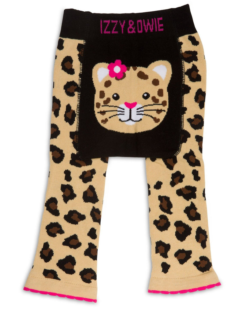 Jungle Cat Baby Leggings Baby Leggings Izzy & Owie - GigglesGear.com