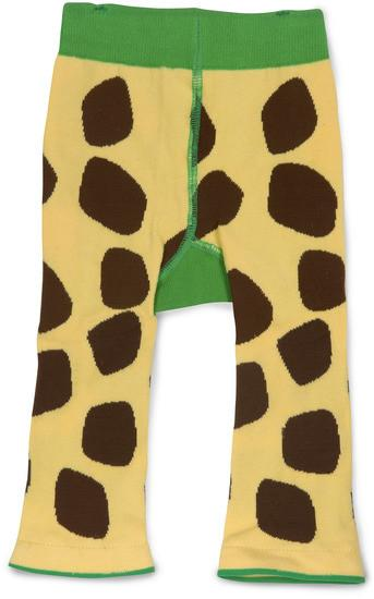 Green and Yellow Giraffe Baby Leggings Baby Leggings Izzy & Owie - GigglesGear.com