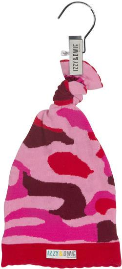 Pink Camouflage Knotted Baby Hat Baby Hat Izzy & Owie - GigglesGear.com