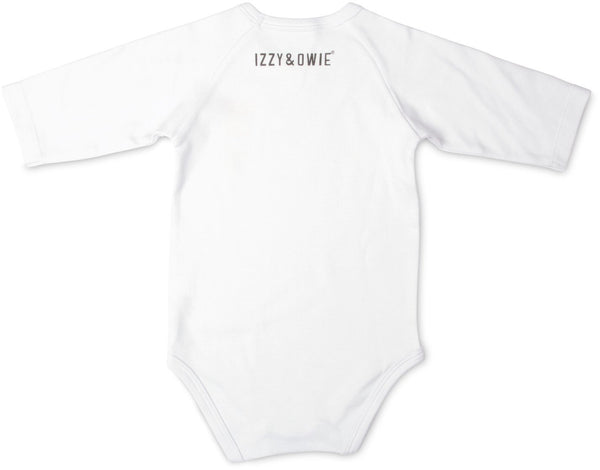 Wild Child Jungle Cat 3/4 Sleeve Baby Onesie Baby Onesie Izzy & Owie - GigglesGear.com