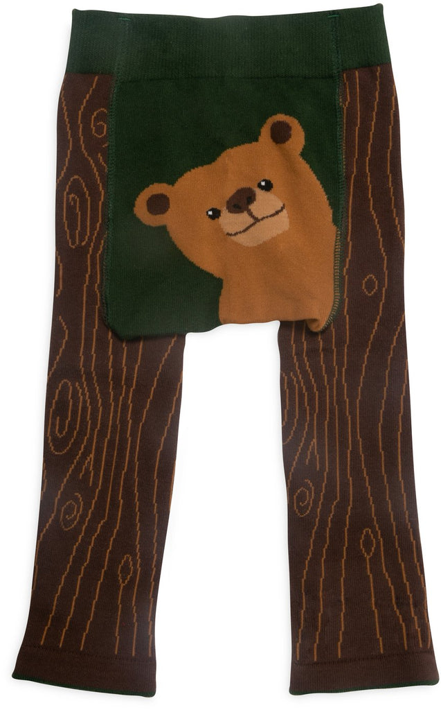 Brown Bear Baby Leggings Baby Leggings Izzy & Owie - GigglesGear.com