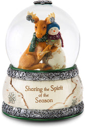 Sharing the Spirit of the Season Christmas Musical Water Globe