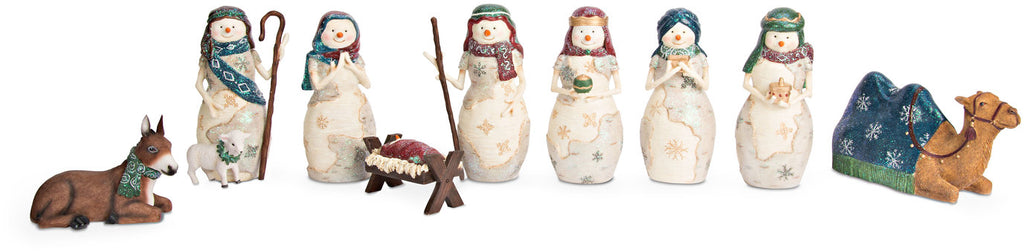 Nativity - 9 Piece Set Nativity 9 Pc Set - Beloved Gift Shop