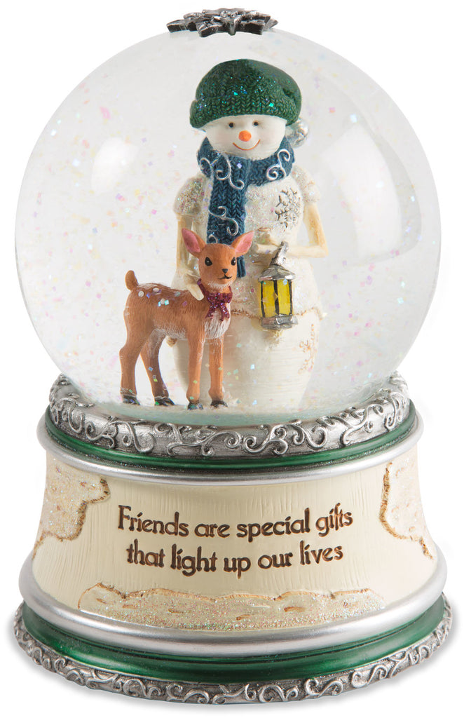 Friends are special gifts that light up our lives LED Musical Water Globe Musical Water Globe - Beloved Gift Shop