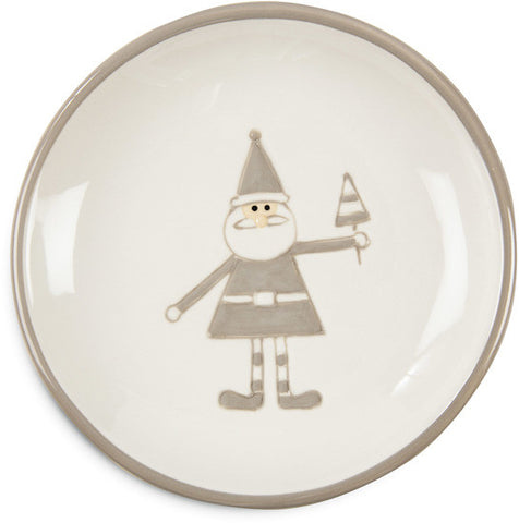 "Santa - 5"" Plate by Holiday Hoopla - Beloved Gift Shop"