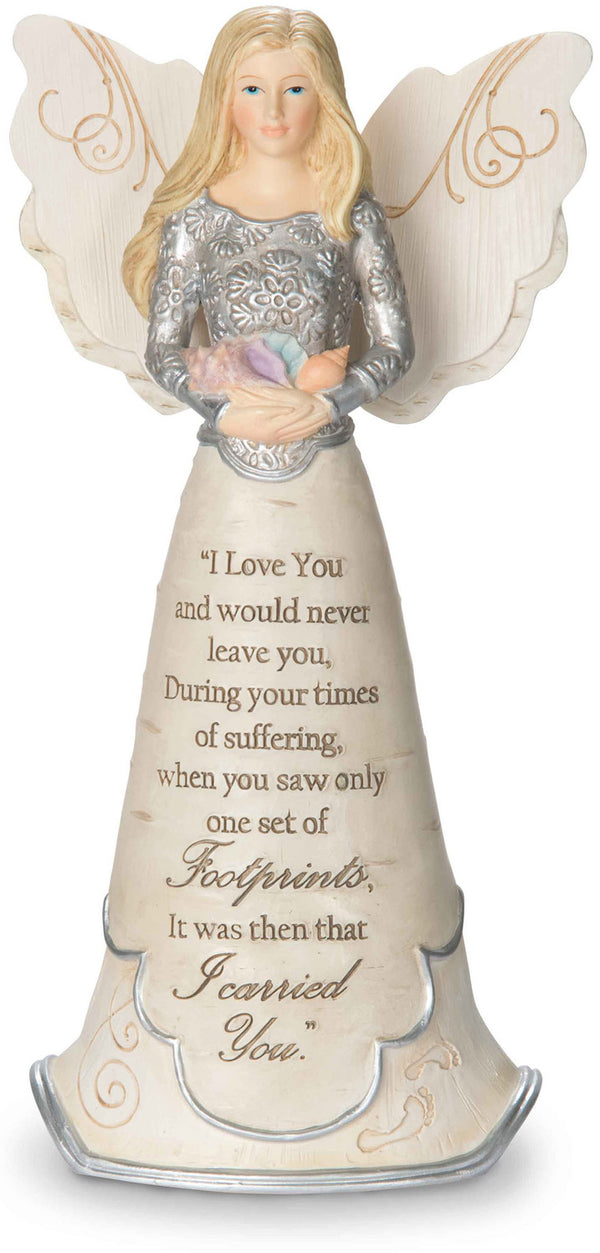 I love you and would never leave you Angel Figurine (DISC) Angel Figurines - Beloved Gift Shop