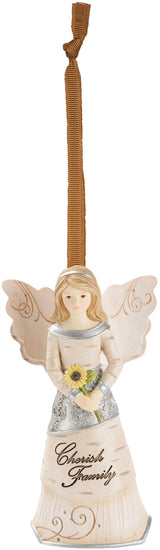 Cherish Family Angel Christmas Tree Ornament