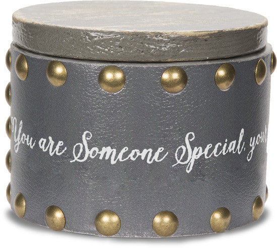 You are someone special your caring ways have touched my heart Keepsake Box