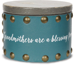 Grandmothers are a blessing from above, filling our hearts with love Keepsake Box