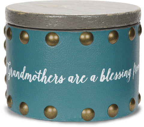 Grandmothers are a blessing from above, filling our hearts with love - Keepsake Box by Emmaline - Beloved Gift Shop