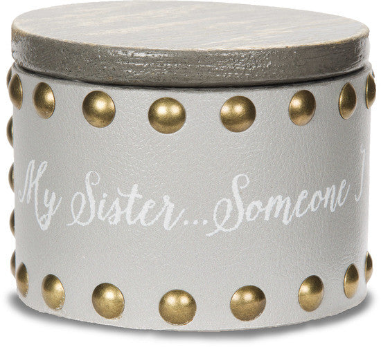 My sister...someone I will always call my friend - Keepsake Box by Emmaline - Beloved Gift Shop