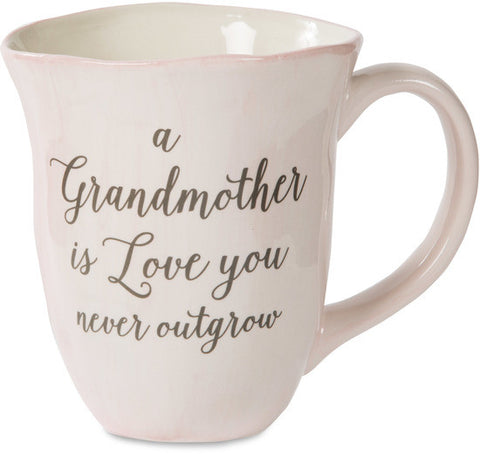 A grandmother is love you never outgrow - Ceramic Mug by Emmaline - Beloved Gift Shop