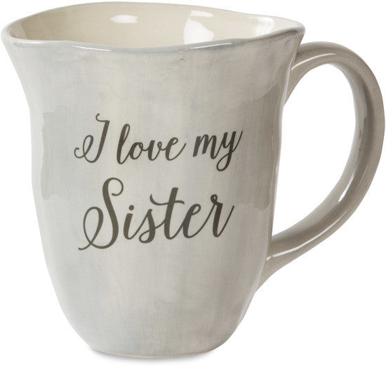 I love my sister Mug by Emmaline - Beloved Gift Shop