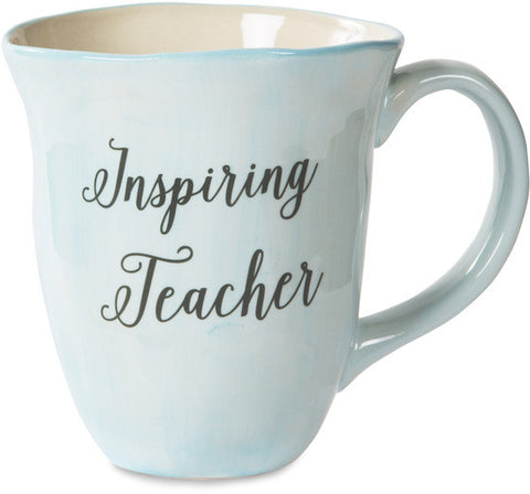 Inspiring teacher Ceramic Mug by Emmaline - Beloved Gift Shop