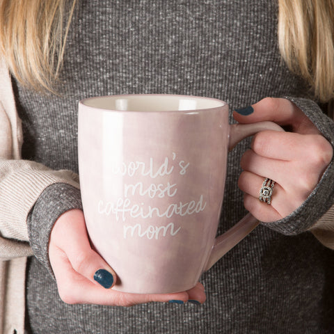 World's most caffeinated mom - Mug