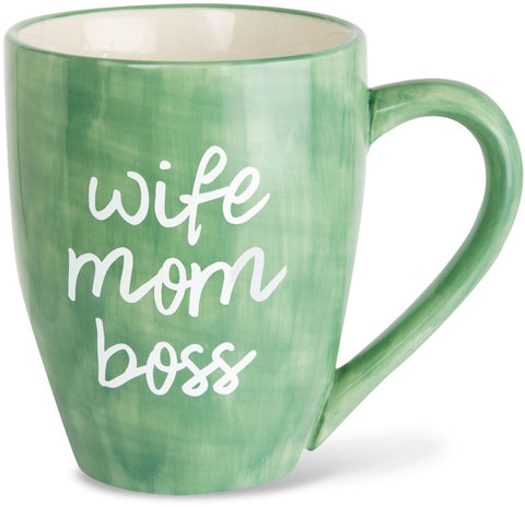 Wife mom boss Coffee Mug Mug - Beloved Gift Shop