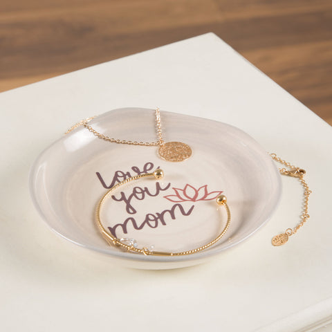 Love you mom - Keepsake Dish