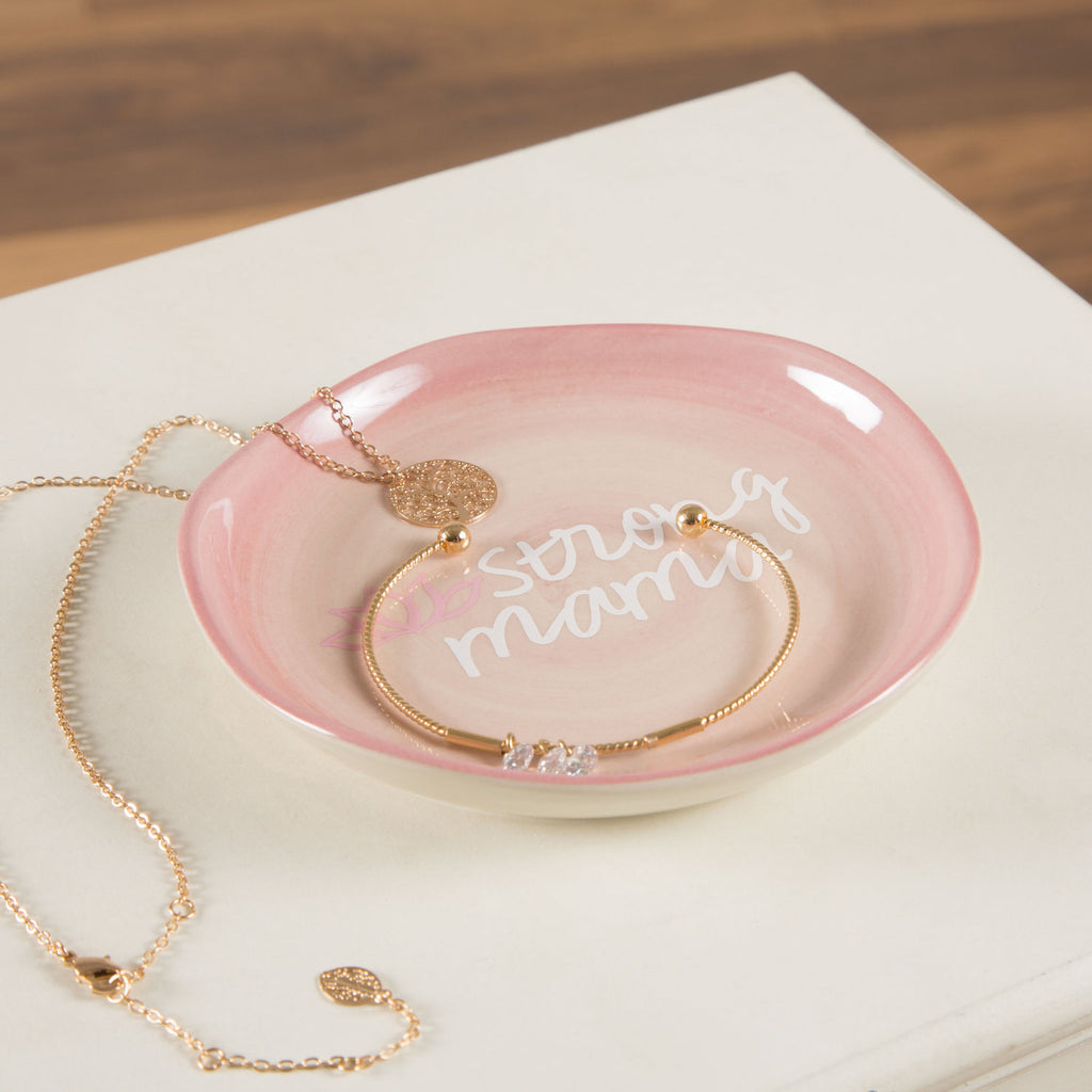Strong mama Keepsake Dish Keepsake Dish - Beloved Gift Shop