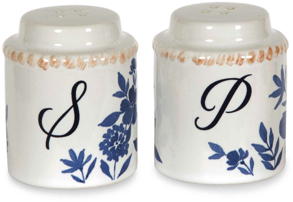 Floral Pattern Salt & Pepper Shakers Salt & Pepper Shakers - Beloved Gift Shop