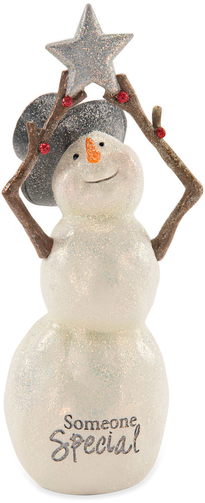 Someone Special Snowman with Star Figurine