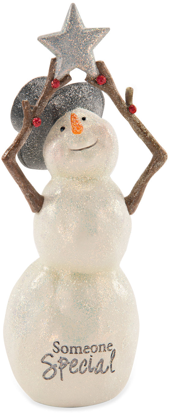 Someone Special Snowman with Star Figurine Figurine - Beloved Gift Shop