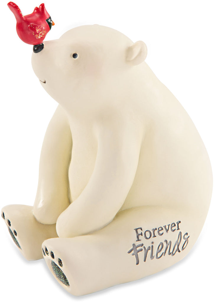 Forever friends Polar Bear by Berry and Bright - Beloved Gift Shop