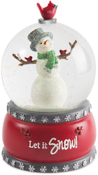 Let it Snow 100mm Musical Water Globe
