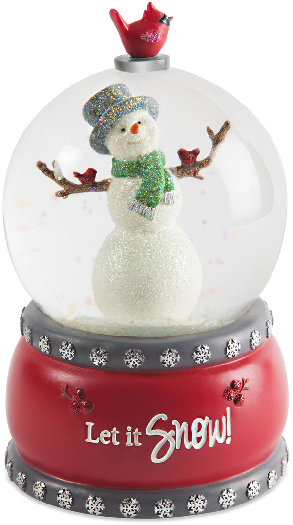 Let it Snow 100mm Musical Water Globe Musical Water Globe - Beloved Gift Shop
