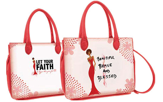 Beautiful, Brave and Blessed Bible Book Cover Bag Bible Cover - Beloved Gift Shop