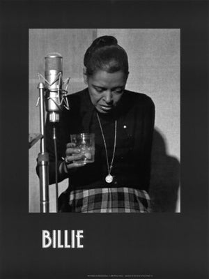 Billie Holiday Last Recording Session Milton J. Hinton Art Print Posters & Prints - Beloved Gift Shop