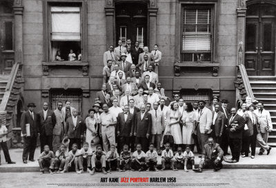 A Great Day in Harlem, Jazz Portrait | Art Kane