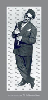 Bebop (Dizzy Gillespie) William Gottlieb Art Print Posters & Prints - Beloved Gift Shop