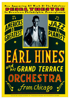 Earl Hines: Pearl Theatre Philadelphia 1929 | Unknown