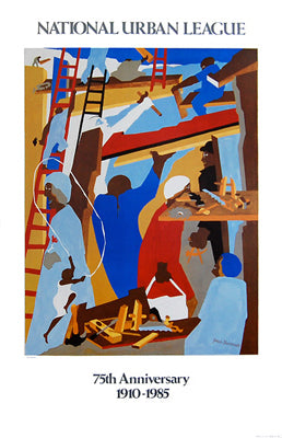 The Builders | Jacob Lawrence